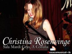 Christina Rosenvinge Concert Coruña