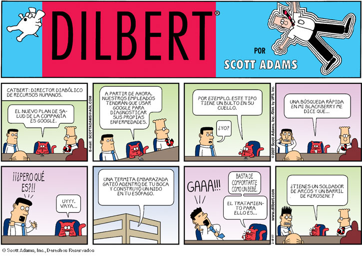 Dilbert y Google