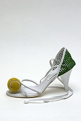 Tennis Court Pump - Chanel - Spring RTW, 2004