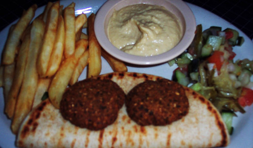 Falafel at Leo's Greek Castle