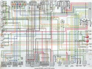 1986 Honda Gl1200 Goldwing Wiring Diagram Schematic 1986