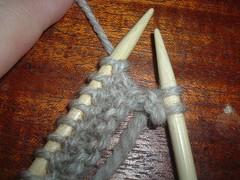 Short Rows - Put yarn behind