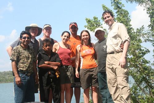 All of us at Laguna Azul