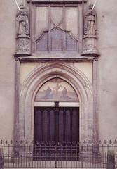 Dr. Martin Luther's Church Door - Wittenburg, ...