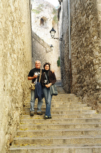 Alan and I in Girona