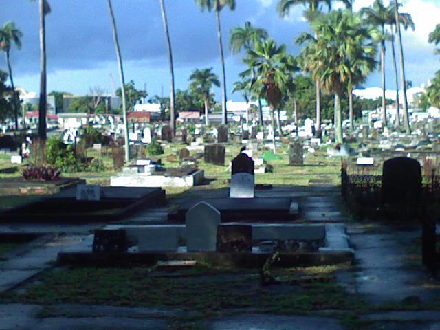 Westbury Cemetery, Bridgetown, Barbados