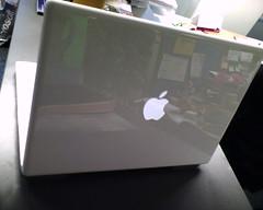 macbook with vista