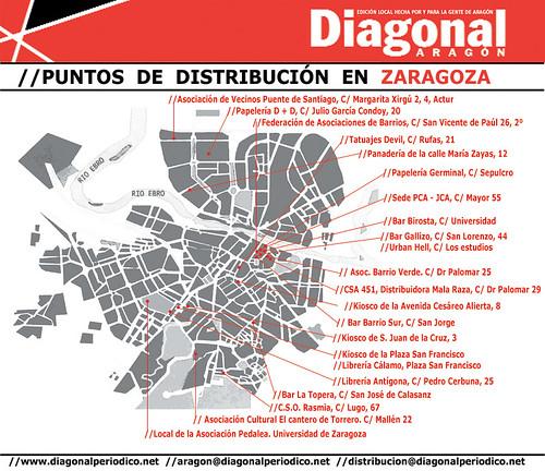 diagonal puntos de venta