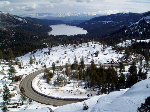 U.S. 40 at Donner Pass