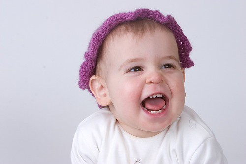 Modeling a Too Small Girl's Hat