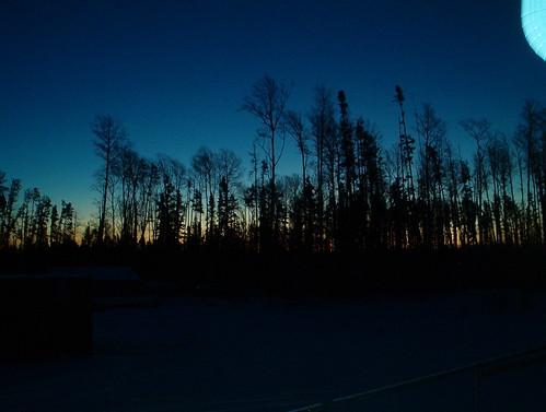 Morning in Neskantaga