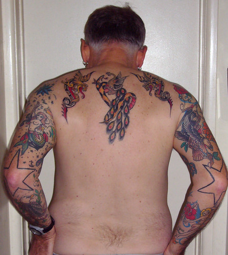 Old School Tattoos - Back and Arms