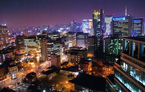 city, Seoul, distinction, ancient houses, high-rise buildings, FX777222999, FX777,  beautiful, Asia-pacific