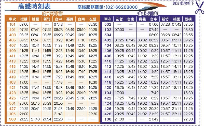高鐵時刻表 早鳥票價|時刻- 高鐵時刻表 早鳥票價|時刻 - 快熱資訊 - 走進時代