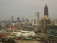 atlanta from the hotel
