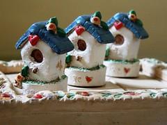Tiny Birdhouses