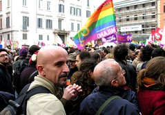 Piazza Farnese,Roma: 50.000 per i diritti