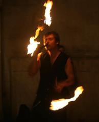 Fire Juggler by Drew Leavy via Flickr.com