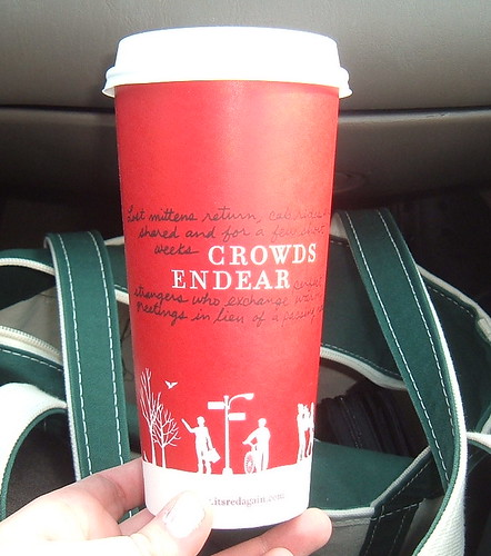 2006 Starbucks Holiday Coffee Cup