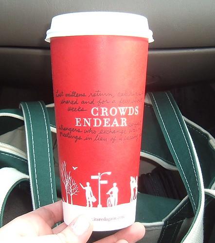 2006 Starbucks Holiday Coffee Cup