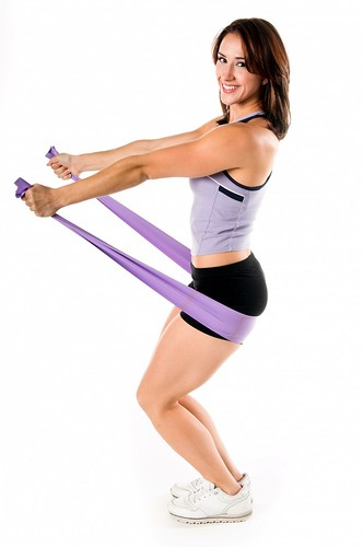 stretch band yoga work out por Matchstick Video.
