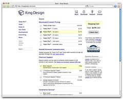 King Design Store Page