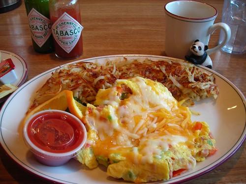 Breakfast at Spiffy's Restaurant