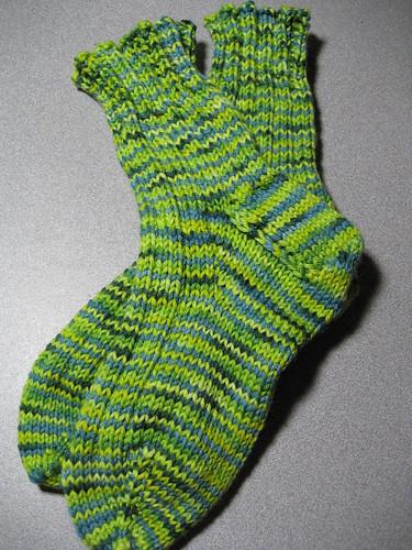 Spring Fling socks