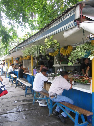 Quezon City, Manila eatery turo-turo resto sidewalk street eating  Buhay Pinoy Philippines Filipino Pilipino  people pictures photos life Philippinen  菲律宾  菲律賓  필리핀(공화�) food