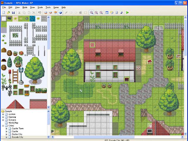 RPG Maker XP讓玩家自已自製遊戲 - MyChat 數位男女 單機遊戲