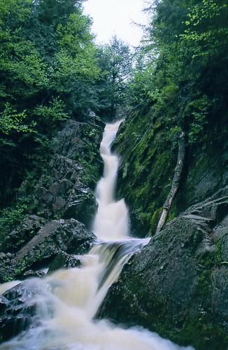 Morgan Falls at high flow