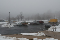 """671B4141: Foggy Parking Lot • <a style=""""font-size:0.8em;"""" href=""""http://www.flickr.com/photos/54494252@N00/15268701/"""" target=""""_blank"""">View on Flickr</a>"""