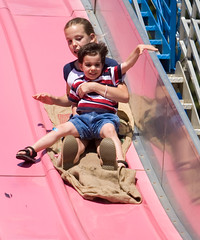 "IMG_5670: Children On the Slide • <a style=""font-size:0.8em;"" href=""http://www.flickr.com/photos/54494252@N00/18510110/"" target=""_blank"">View on Flickr</a>"
