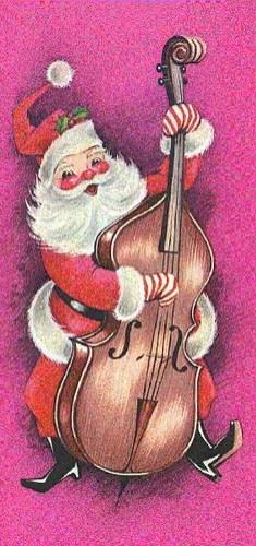 santa double bass