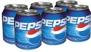Pepsi Minicans