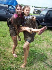 Teens Barefoot