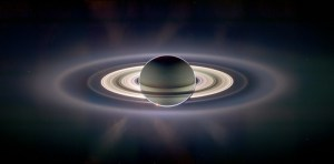 A View of Earth from Saturn