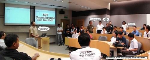 e27 Unconference session