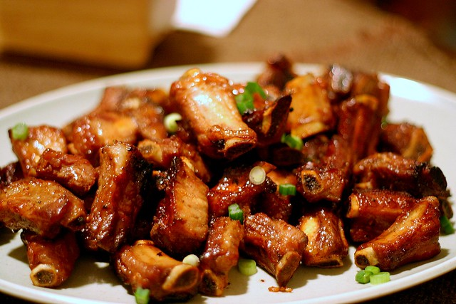 hoisin pork riblets