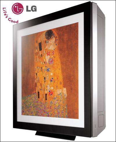 LG ArtCool Air Conditioner CloseUp