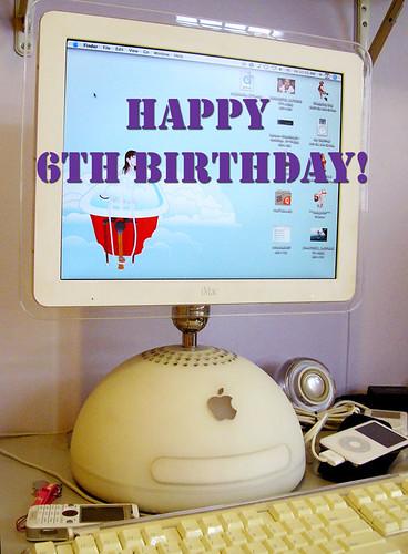 Happy birthday, iMac!