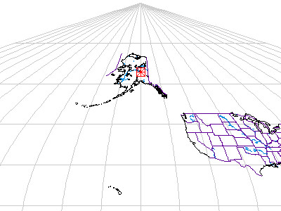 Xerox PARC map of Alaska and USA
