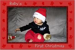 rockstar baby's first christmas