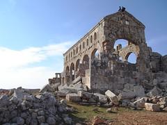 Dead Cities Heritage - Kharab Al-Shams Church