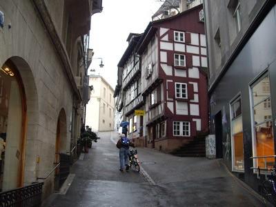 Una calle de Basel