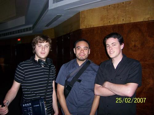 Adam, John and Nic