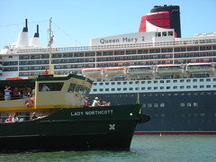 QM2 and Lady Northcott