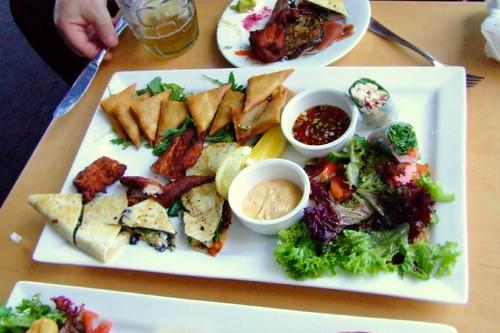 Mezza Antipasto Platter @ Five Islands Brewery, Wollongong