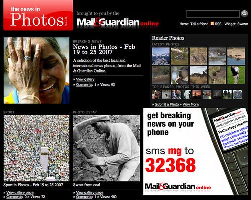 News in photos - M&G