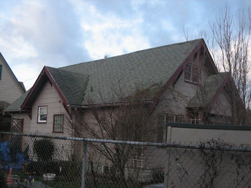 Old Roof - South Side before